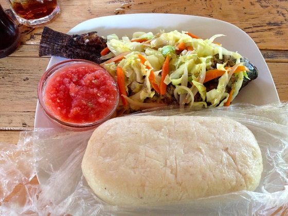 Banku Recipe With Hot Pepper And Fish #Ghana #Food