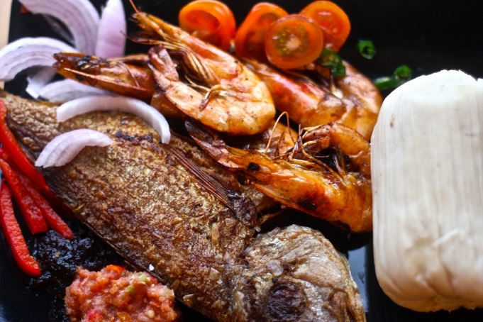 #Kenkey - Enjoy Kenkey With Shito And Recipe #Ghana #Food #FrizeMedia